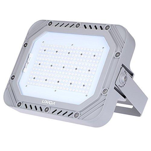 Lixada 200W 23000LM Weiße LED Flut Licht Scheinwerfer Sicherheit Lampe IP66 wasserdicht 100-240V für Außenbeleuchtung Garten Wand