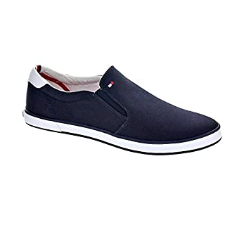 Tommy Hilfiger Herren Easy Summer Slip on Espadrilles,Midnight,45 EU
