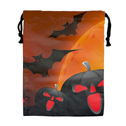 gs Drawstring Bag Container Hairdryer Bag,11.8 by 15.7 Inch Free Halloween ()
