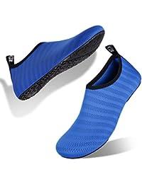 Scarpe da Immersione Mare Spiaggia Ballo Yoga Sport Acquatico Traspirante  Scarpe a Piedi Nudi dell  3bd751d06ce
