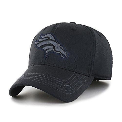 NFL Wilder OTS Center Stretch Fit Hat, Unisex - Erwachsene, NFL Wilder OTS Center Stretch Fit Hat, schwarz, Large/X-Large -