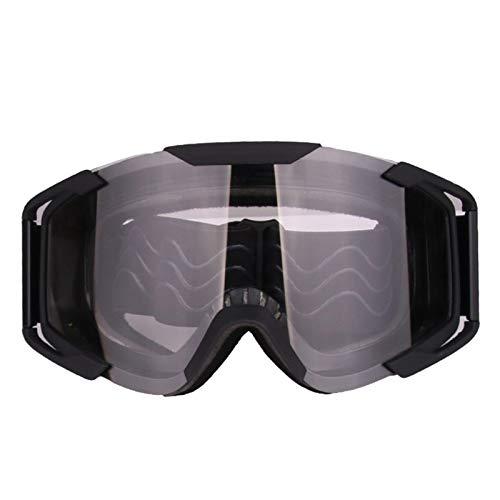 Lafeil Sportsonnenbrille Jugendliche Damen Herren Outdoor Langlaufbrillen Motorradbrillen Reiten Skibrillen Brillen Uv Schutz Clear