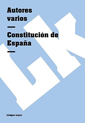 Constitución de España (Leyes) por Autores varios