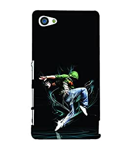 Young Dancing Boy 3D Hard Polycarbonate Designer Back Case Cover for Sony Xperia Z5 Compact :: Sony Xperia Z5 Mini
