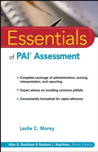 Essentials of PAI Assessment (Essentials of Psychological Assessment)