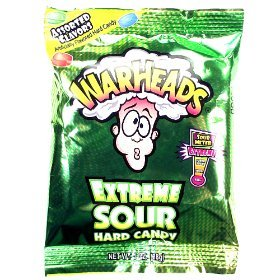 r Candy 1 oz (28g) (Warheads Sour Candy)