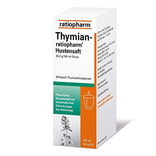 THYMIAN-ratiopharm Hustensaft 100 ml