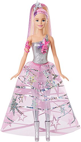 Mattel Barbie DLT25 Sternenglitzer Kleid Barbie ()