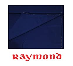 Raymond STELLAR Soft and Pliable Trouser Fabric 1Pc 1.3Meter Trouser Length for Mens Royal Blue Colour