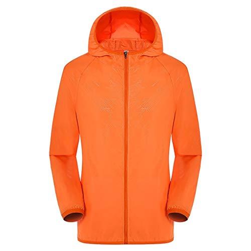 kolila Unisex Klimatisierte Jacke Mantel Sommer Outdoor Kühler Langarm Sonnenschutz Kapuzen Oberteile Tops Sweatshirt Herren Damen