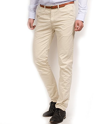 Scotch & Soda - Pantalon Homme beige (Arena)