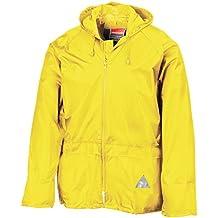 Acerbis Regenanzug teilbar Logo schwarz-gelb L