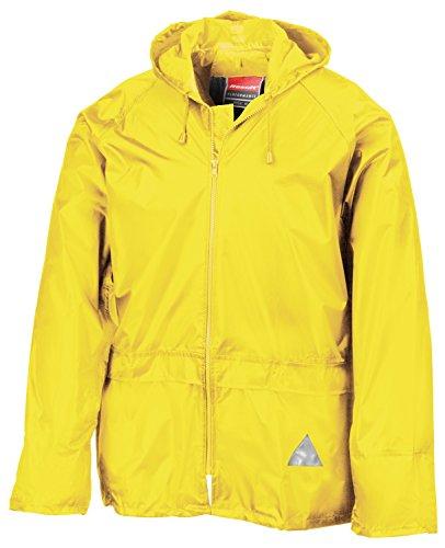 RT95 Jacke und Hose Set Regenanzug wasserdicht Neon Yellow