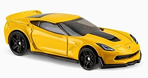 HOT WHEELS® Corvette C7 Z06 - 1:64 - gelb (Edition HW Factory Fresh 2017)