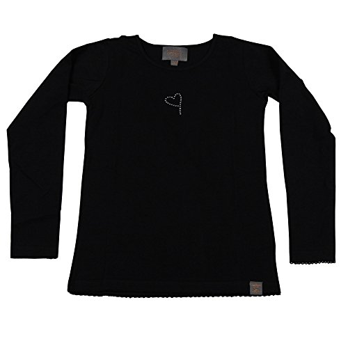 Brands4kids A/S Creamie Long Sleeve T-Shirt For Girls, Pattern In Rhinestone,  4608: Amazon.co.uk: Clothing