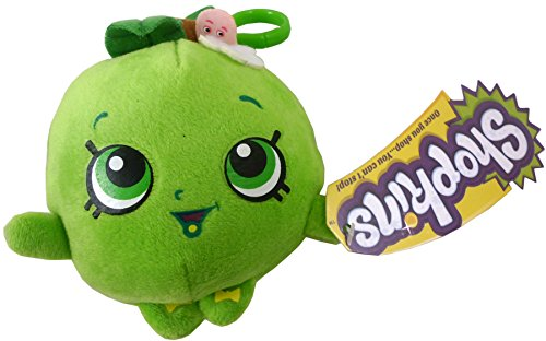 Shopkins Plush Bag Clip - Apple Blossom - Children's Accessories