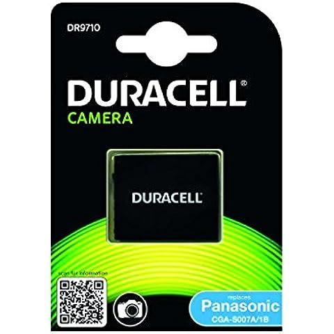 Duracell DR9710 - Batería para cámara digital 3.7 V, 950 mAh (reemplaza batería original de Panasonic CGA-S007)