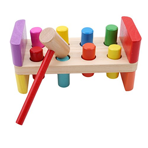 Bancs /à marteler Multicolore 82507A Toi-Toys