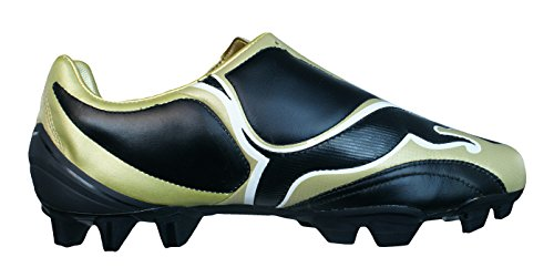 Puma V3 08 i FG Mens Leather Football Boots Cleats-Black-7