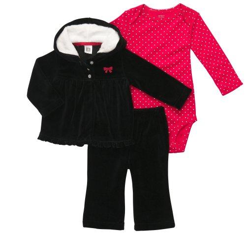 Carter's 3 Teilig Gr. 56/62 Jacke Body Hose Baby Mädchen Outfit Kleidung Girl 3 Teile US Size Weihnachten