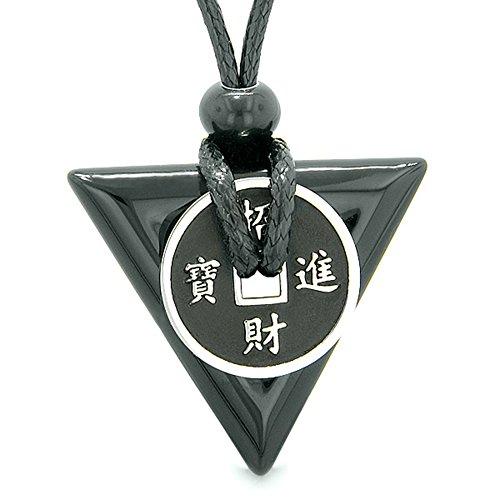 amulette-porte-bonheur-piece-de-monnaie-charm-triangle-pyramid-pouvoirs-noir-agate-collier-pendentif