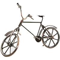 Hierro molde hecho bicicleta Ornament Shabby diseño antiguo decoración del hogar regalo de inauguración de la