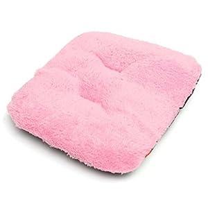VIDOO Ultra Weiche Haustiere Hunde Katzenbett Zwinger Kissen Welpen Kissen Sofa Hot Mat Blanket-Pink