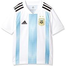Adidas Argentina Camiseta de Equipación, Niños, Blanco (azucla/Negro), 152