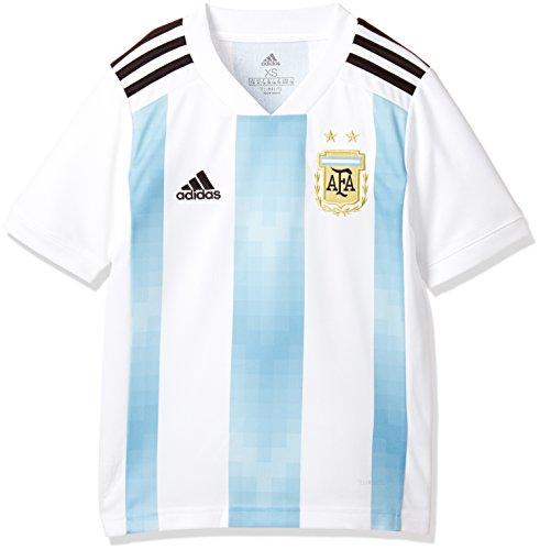 adidas AFA Argentinien Trikot Home WM 2018 Kinder 128 - XS (Argentinien Home Trikot)