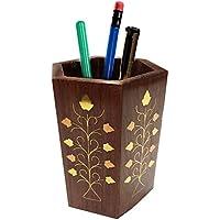 Regalo il vostro San Valentino giorno speciale Penna basamento di legno, perfetto per l'ufficio e casa escursioni per organizzare le vostre penne, matita,