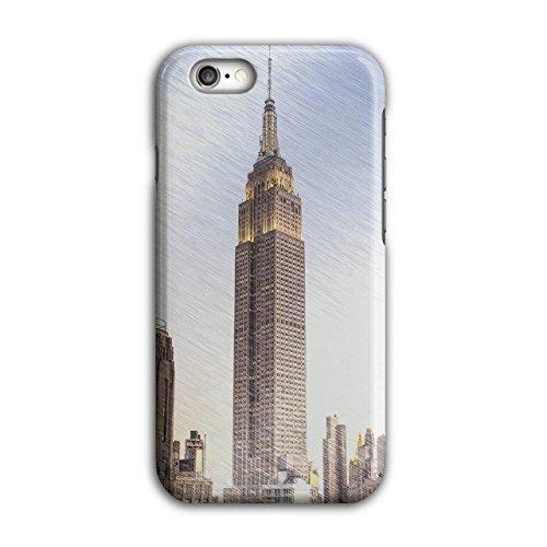 NYC Städtisch Entwurf Mode Neu York Symbol iPhone 6 / 6S Hülle   (Kostüm Perücken Nyc)