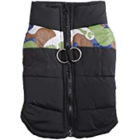 MCYs Hund Kostüme Wintermantel mit Kapuze Hundekleidung Hundepullover