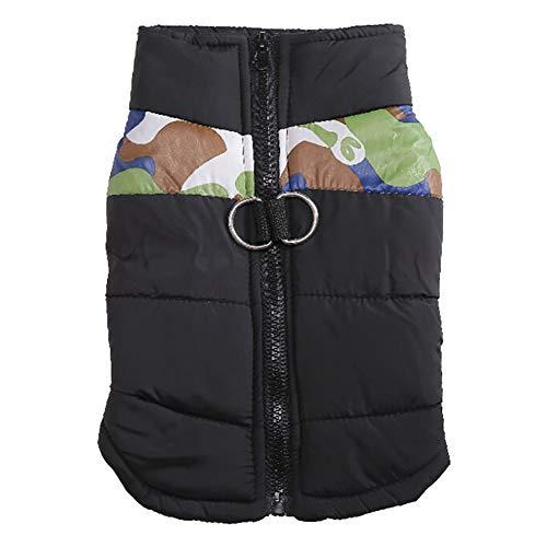 Amphia - Hunde Weihnachten,Haustier Hund Gesteppte Skianzuggröße Mittlerer Hund - Haustier Hund Mantel Jacke Heimtierbedarf Kleidung Winter für Kleine mittelgroße (Weibliche Aufblasbare Puppe Kostüme)