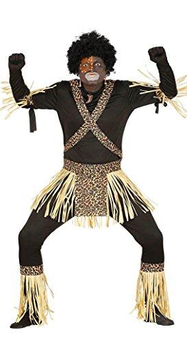 KOSTÜM - KANNIBALE - Größe 52-54 - Kostüm Lendenschurz Herren