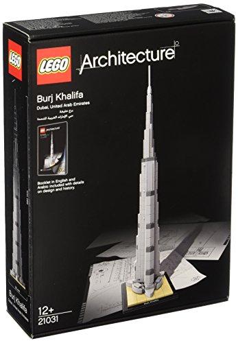 LEGO Architecture 21031 - Burj Khalifa, Sehenswürdigkeiten-Bauset