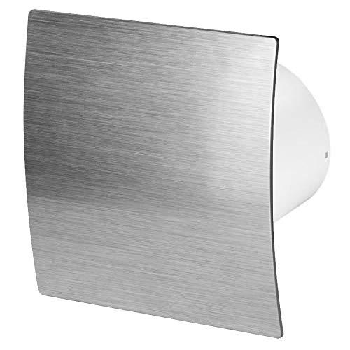 125mm Standard Dunstabzugshaube Silber ABS Frontblende ESCUDO Wand Decke Belüftung