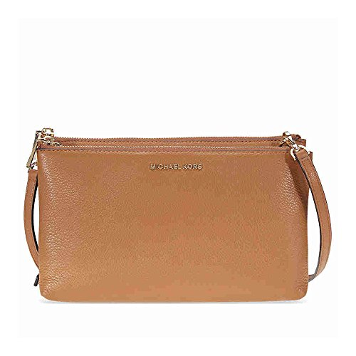 MICHAEL by Michael Kors Adele Borsa a Tracolla in Pelle Donna Acorn