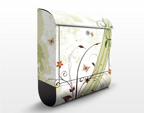 WTF Cassette postali Design Springtide 39x46x13 cm in acciaio inox