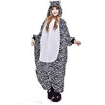 LPATTERN Pijamas Siameses de Franela Dibujo Animado Hombre Mujer Pijama  Disfraz Cosplay c037135b073d
