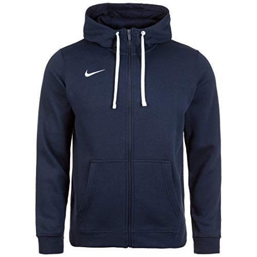 Nike Herren Team Club 19 Full-Zip Hoodie Kapuzenjacke, Obsidian White, 3XL Nike Zip-hoodies