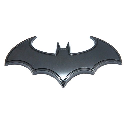 3D Metal Bat Logo Car Styling Car Sticker Batman Badge...