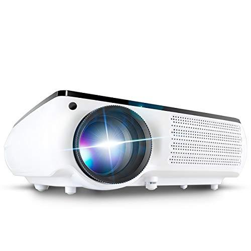 Ai LIFE Beamer 12000 Lumen 1080P HD LED-Projektor Mit 3D ± 40 ° elektronischer Trapezkorrektur (1920 x 1080) Unterstützung 200