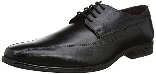 Lotus Men's Holgate Oxfords, Black (Black Leather), 10 UK 44 EU