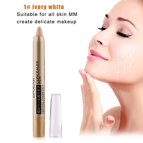 Simple Tête Correcteur Visage Cosmétiques Maquillage Imperméable À L'eau Correcteur Stylo Point culminant Contour Pen Stick Grand Pour Femme