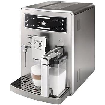 Saeco HD8944/01 Xelsis Kaffeevollautomat, Cremaventil, Milchkaraffe, Edelstahl