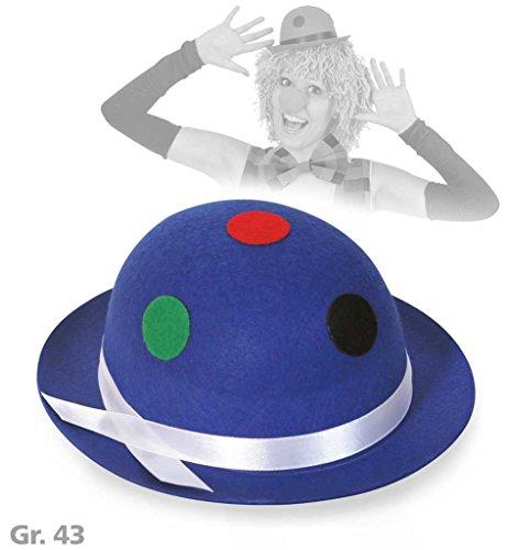 Mini-Melone, sortierte Farben, mit Punkten, Gr. 43 cm, Karneval, Mottoparty, Accesoires ()
