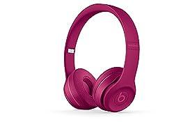 Beats Solo3 MPXK2ZM/A Wireless On-Ear Headphones (Brick Red)