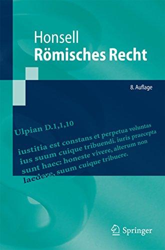 Römisches Recht (Springer-Lehrbuch)