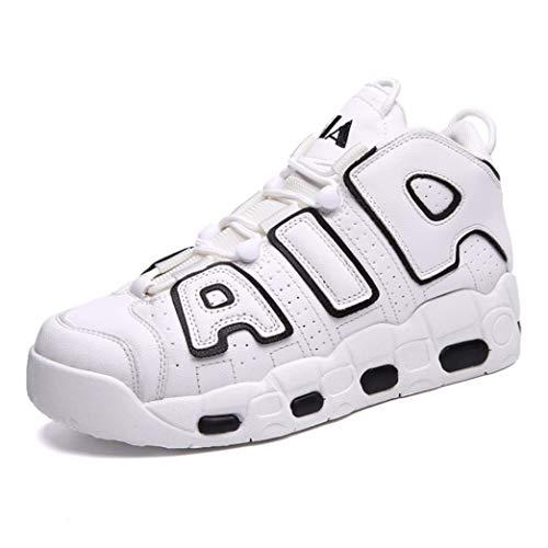 Scarpe da Pallacanestro da Uomo Sneakers comode Traspiranti e Alte da Ginnastica Scarpe da Ginnastica da Jogging da Corsa all'aperto