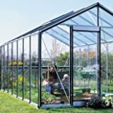 Glas-Gewächshaus R307 H-B-Expert-Plus 15,88 m²
